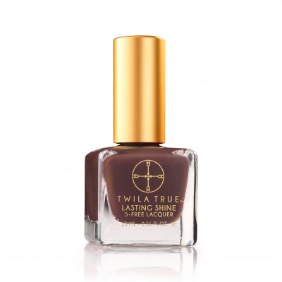 Lasting Shine Lacquer - Words Cannot Espresso