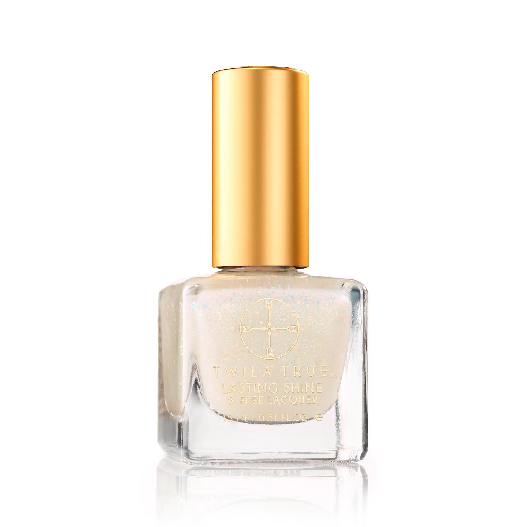 Nude Glitter Nail Polish Glow Getter Twila True Beauty